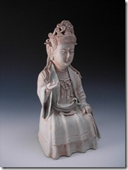 Song Ceramics Qingbai Figure of Guanyin W