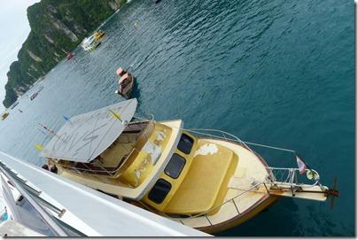 the boat transfer