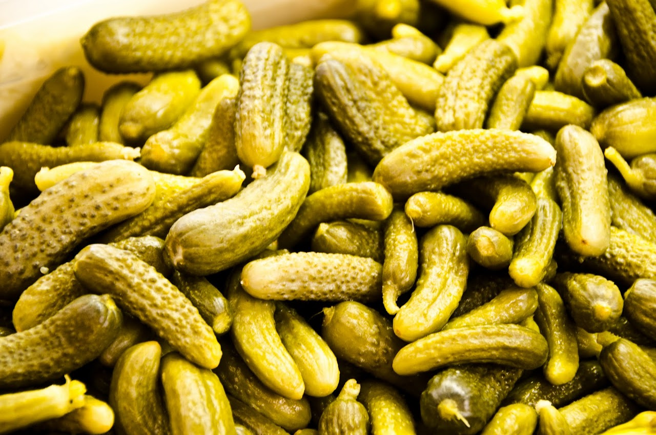 Pickles at Kadikoy