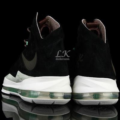 nike lebron 10 sportswear black mint nubuck 6 05 Nike Sportswears LeBron X EXT Black / Mint (607078 001)