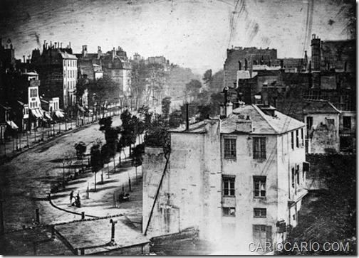 A PRIMEIRA FOTO DE UM HUMANO 1938-1839