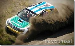Dakar Rally Renault Duster 08 Luciana Tapia