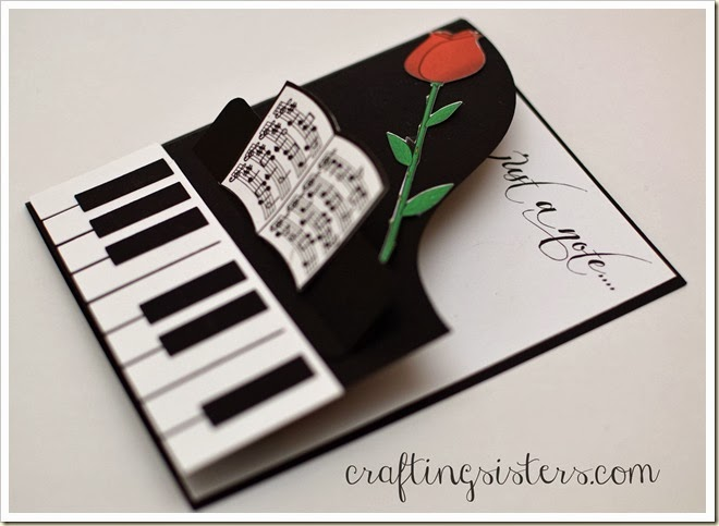 Piano Card side