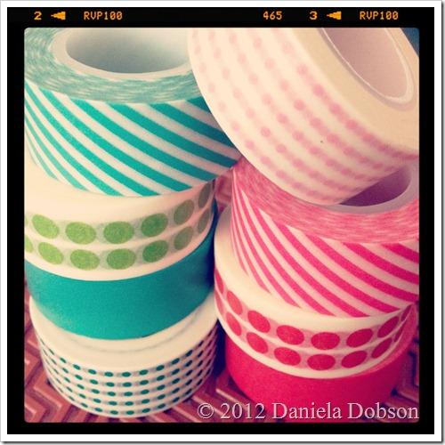 Daniela Dobson Target paper tape