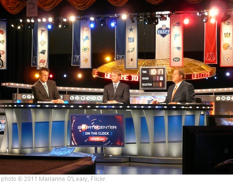 '2011 NFL Draft ESPN Set' photo (c) 2011, Marianne O'Leary - license: http://creativecommons.org/licenses/by/2.0/