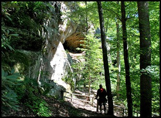 41 - Battleship Rock Trail- large cliffside cave