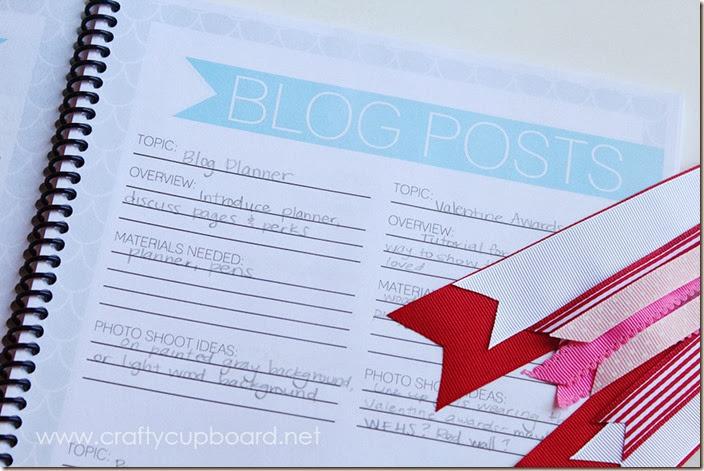 Blog Planner Posts Planner