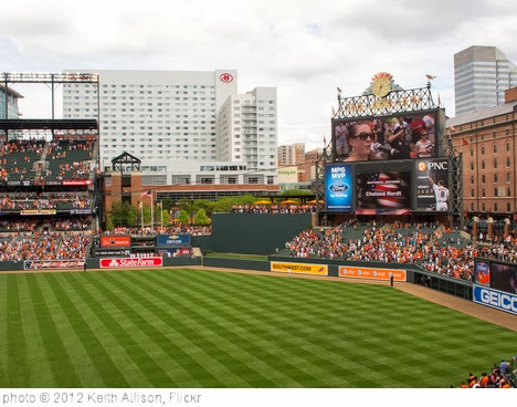'Camden Yards National Anthem' photo (c) 2012, Keith Allison - license: http://creativecommons.org/licenses/by-sa/2.0/
