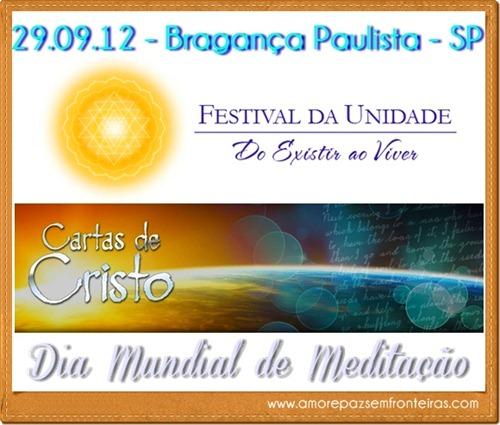 Festival da Unidade e Cartas de Cristo