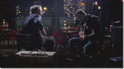 אלכס קרב ואביו מנגנים בגיטרה, האנטומיה של גריי