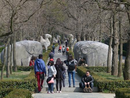 17. statui animale la mormantul imperial Hongwu.JPG