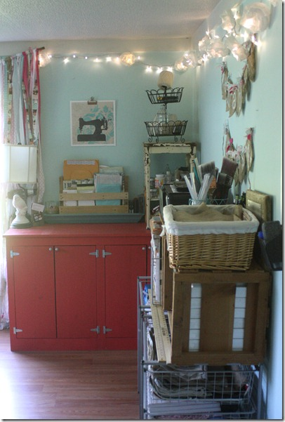 shabby creek studio storage ideas