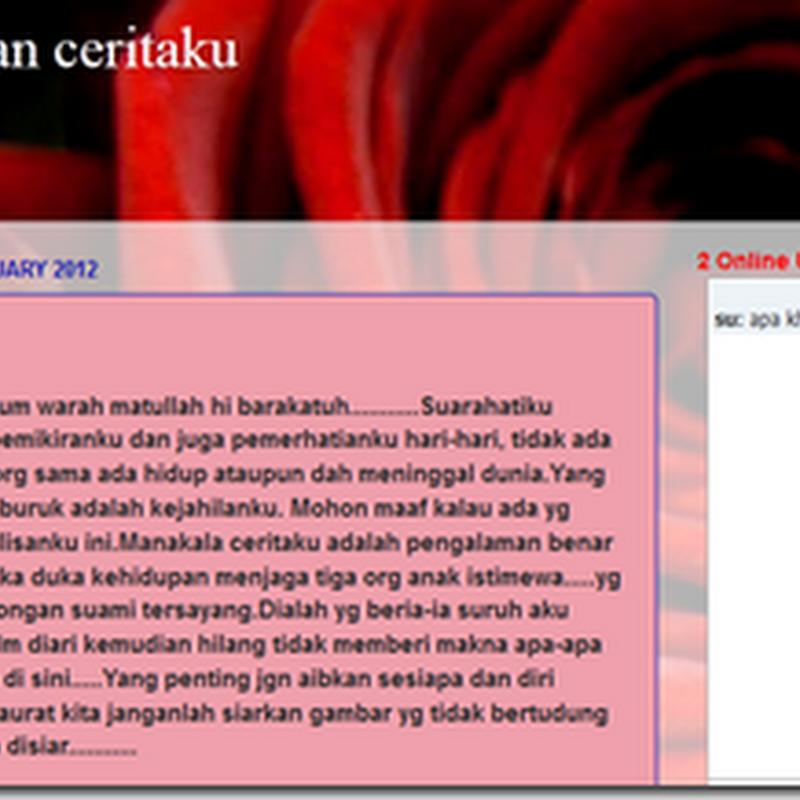 Blog benar-benar Pilihan Ku ..