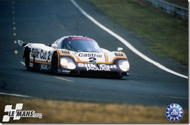1988 24 HEURES DU MANS #2 Jaguar (Silk Cut Jaguar) Andy Wallace (GB) - Jan Lammers (NL) - Johnny Dumfries (GB) - res01
