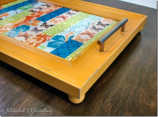 serving tray made from frame 2