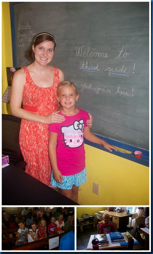 First Day of School September 20142