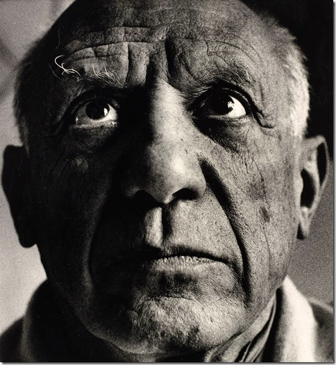 Avedon portrait-of-picasso