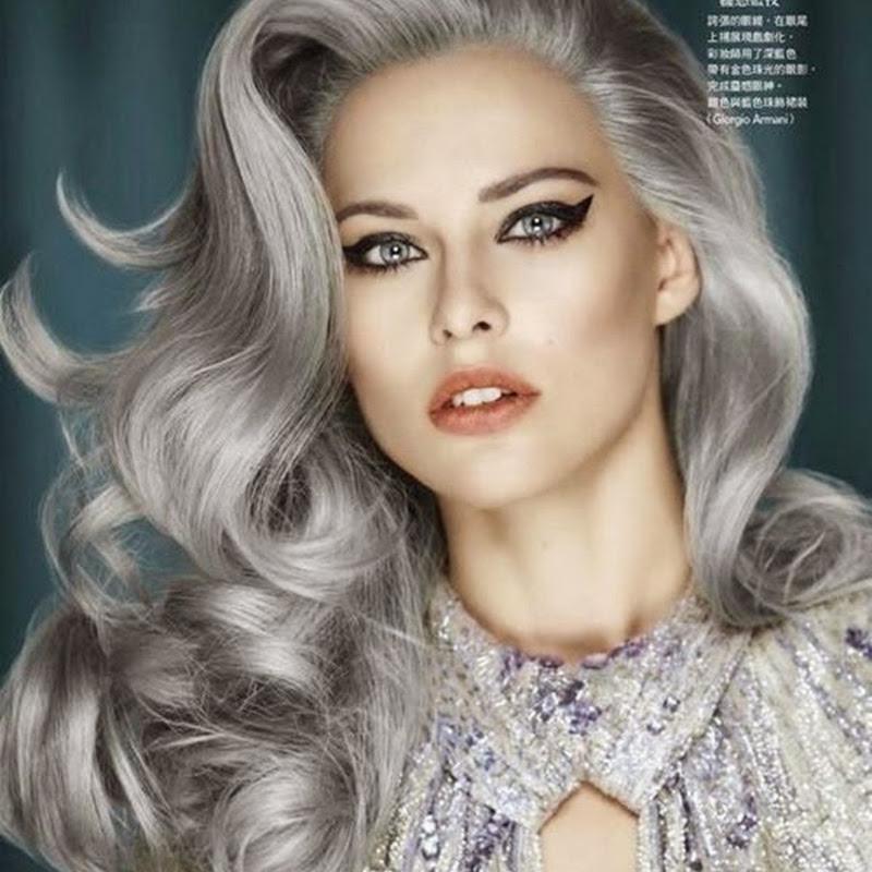 """Como conseguir a cor """"cinza"""" no cabelo com tinta preta."""