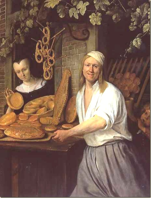 Jan Steen, Arend OOsterwaert et sa femme