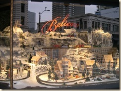 Macy's Christmas window