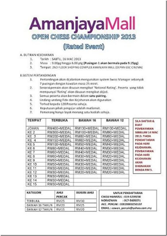 Amanjaya Chess Sg Petani Kedah