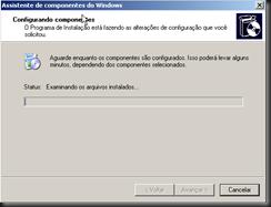 Windows XP : Atualizando Componentes do Windows : IIS :  FTP : Processo de Instalação