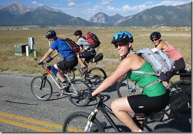 The BVCB gang with Mt Princeton