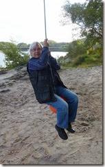 mike swinging