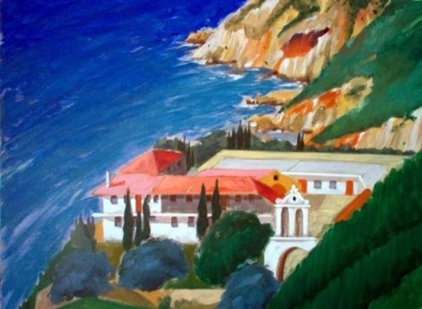 Έκθεση ζωγραφικής του Γεράσιμου Πυλαρινού στο Δημοτικό Θέατρο Ληξουρίου (1-10.8.2013)