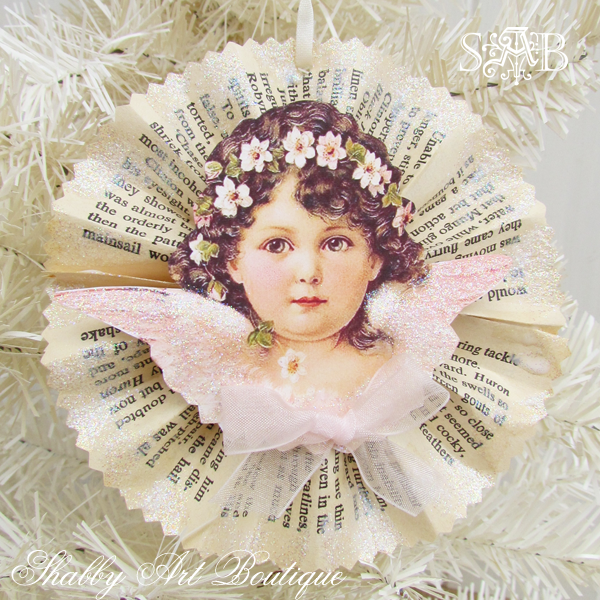 Victorian Angel Ornaments Shabby Art Boutique