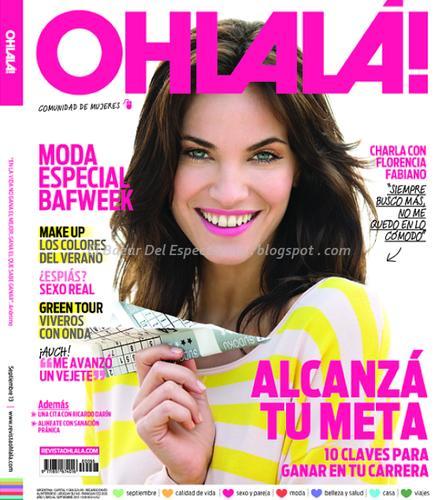 Flor fabiano y ricardo darin en revista ohlala septiembre for Revistas del espectaculo