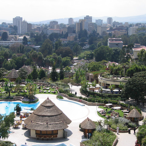 Addis Ababa, the capital of Ethiopia