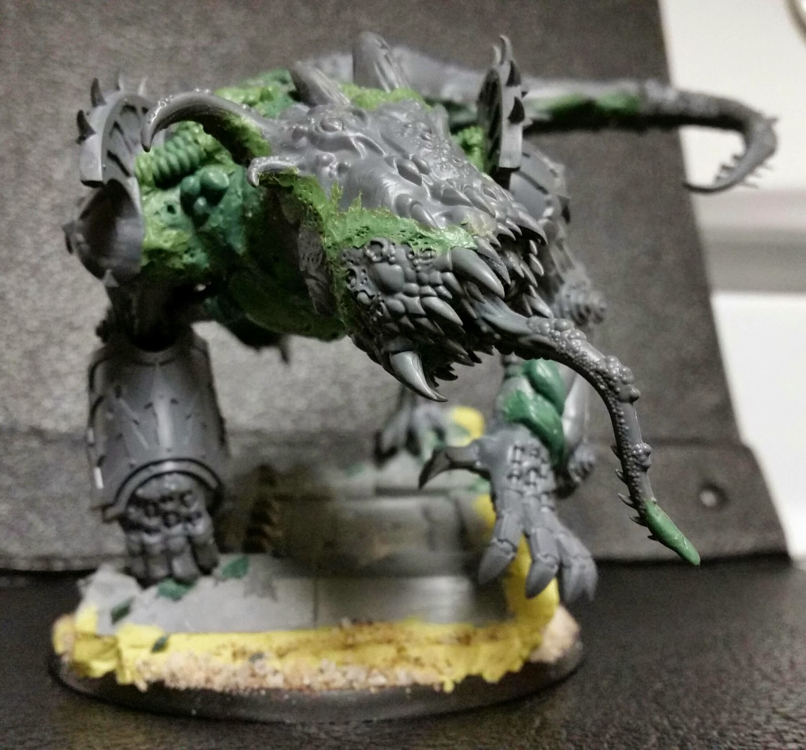 Next Level Painting Nurgle Green