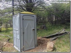 Banheiro na trilha para Laguna Torre, El Chaltén