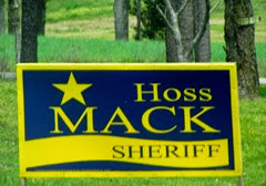 1404001Apr 01 Terry Love Sheriff Sign