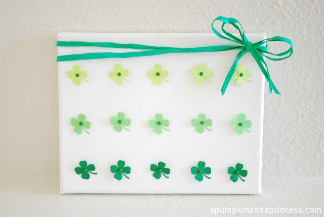 St. Patrick's Day ombre art