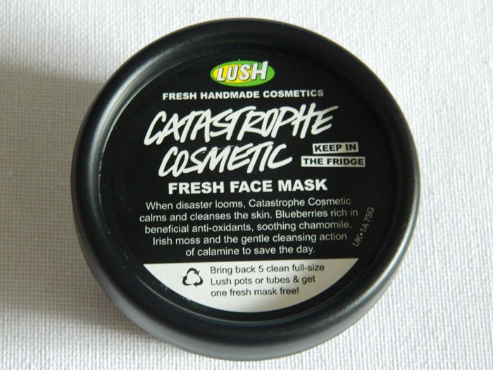 LUSH Catastrophe Cosmetic Fresh Face Mask