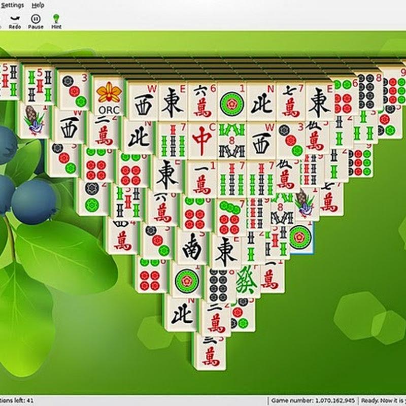 Guía de KMahjongg divertido juego de tablero basado en Mahjong: configuración.