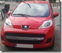 Peugeot 107 front