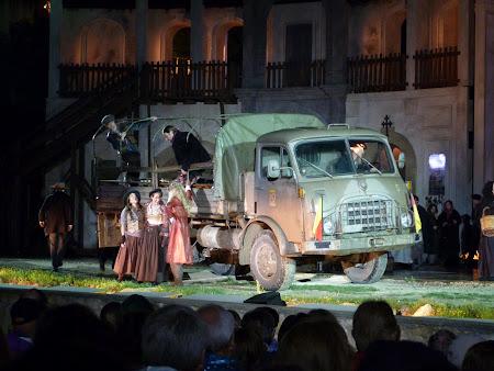 Camion din perioada Franco