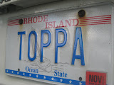 My sister's license plate