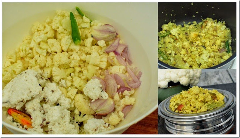 Cauliflower   Mutta Thoran 1