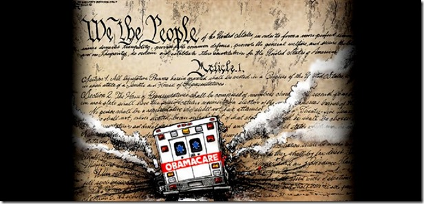Obamacare Destroying Constitution