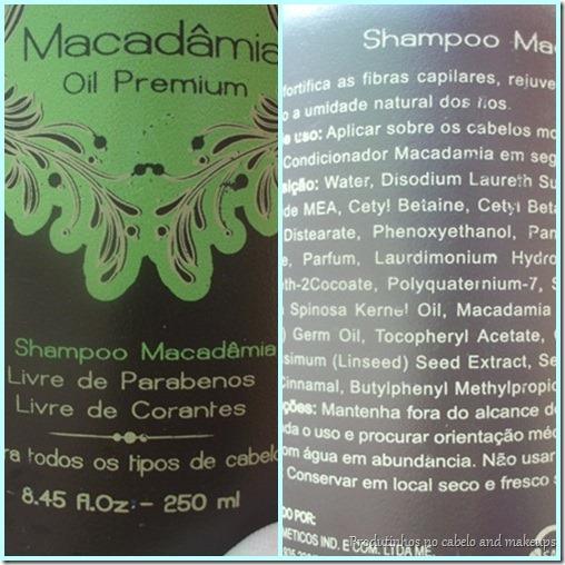 Shampoo macadâmia Inoar