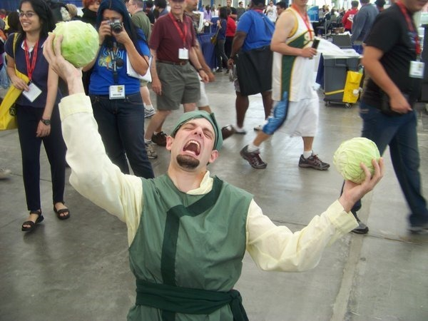 My Cabbages! Avatar Cabage Merchant Cosplay by Victor Sgroi