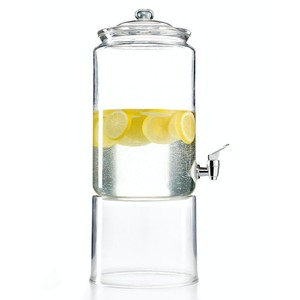 This drink dispenser is so smart for long al fresco meals. Martha Stewart Collection for Macys. (macys.com)