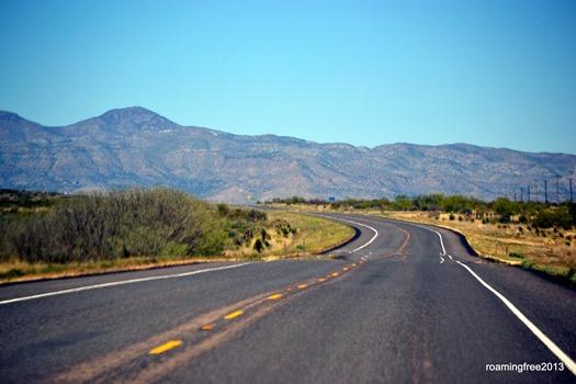 The road to Alpine