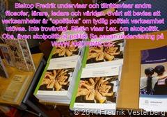 DSC02526.JPG biskop Fredrik Vesterberg tillrättavisar världen om ordet opolitisk med text och amorims