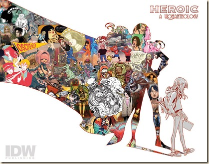 IDW-Womanthology-Cover