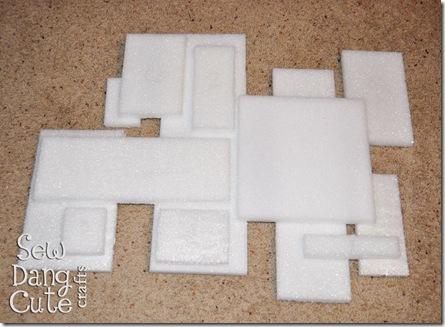 Cut-out-styrofoam